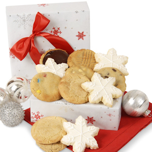 Shimmering Snowflake Cookie Box imagerjs
