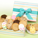 Easter Stripes Cookie Box