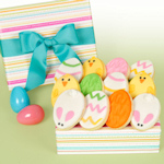 Easter Stripes Buttercream Cutouts