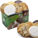 Golf Themed Cookie Gift Box