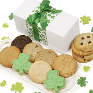 Shamrock St. Patrick's Day Cookies Box imagerjs