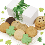 Shamrock St. Patrick's Day Cookies Box
