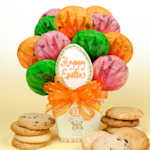Happy Easter Egg Cookie Bouquet