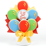 Lift Your Spirits Cutout Cookie Bouquet