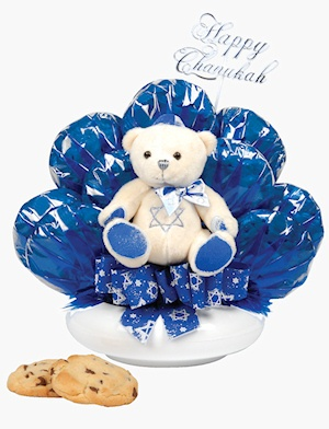 Hanukkah Bear Cookie Planter imagerjs