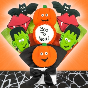 Boo to You Halloween Cookie Bouquet imagerjs