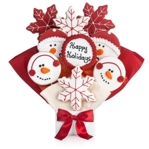 Happy Holidays Cookie Bouquet imagerjs