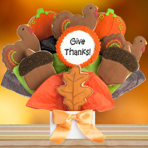 Happy Thanksgiving Cookie Bouquet imagerjs