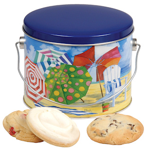 Beach Pail Cookie Gift imagerjs