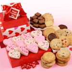 Valentine Hearts Gift Tower