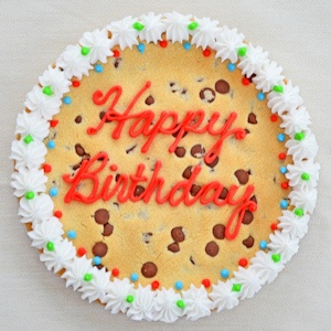 Happy Birthday Cookie Cake imagerjs