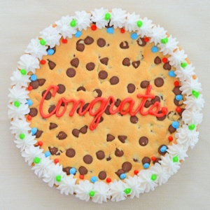 Congrats Big Cookie Cake imagerjs
