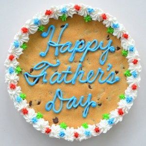 Father's Day Big Cookie Cake imagerjs