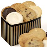 Pinstripe Box Cookie Gift