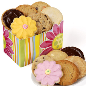 Daisies for Her Gourmet Cookie Box imagerjs