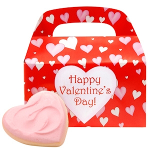 Valentine Cutouts Cookie Tote imagerjs