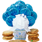 Baby Boy Cookie Arrangement