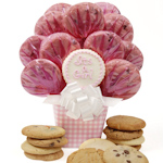 Baby Girl Cookie Arrangement