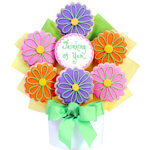 Thinking of You Floral Cookie Bouquet