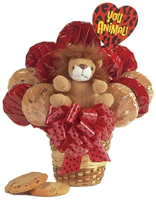 You Animal Cookie Bouquet image