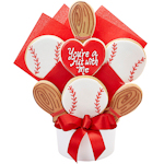 You're A Hit Baseball Bouquet of Cookies