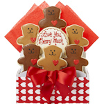 Love You Beary Much Bouquet of Cookies