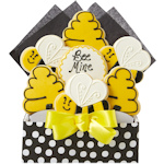 Bee Mine Decorated Bouquet of Cookies
