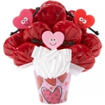 Valentine's Day Blooming Cookie Pot