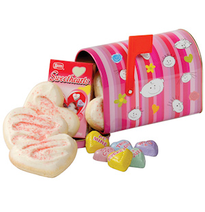 Valentine Cookie Mailbox for Kids imagerjs