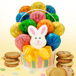 Easter Basket Cookie Bouquet