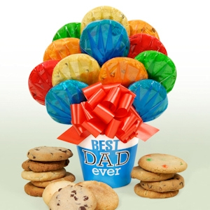 'Best Dad Ever' Fathers Day Cookie Pot imagerjs