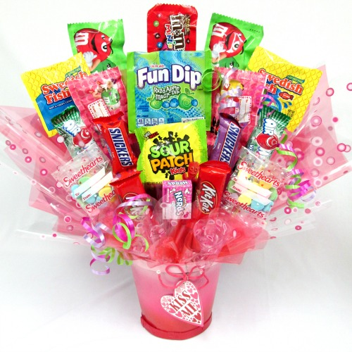 Be mine candy bouquet all about gifts baskets