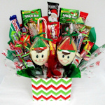 Holiday Elves Candy Basket