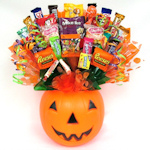 Trick or Treat Candy Pumpkin