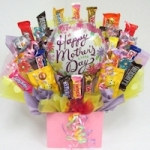 World's Best Mom Candy Bouquet