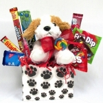 Pick of the Litter Candy Gift Basket