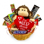Wild About You Candy Basket