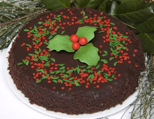 Holiday Chocolate Truffle Cake imagerjs