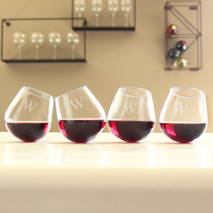 Tipsy Wine Glasses (Set of 4) imagerjs