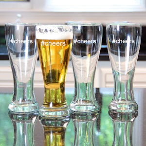 #Cheers Pilsners (Set of 4) imagerjs