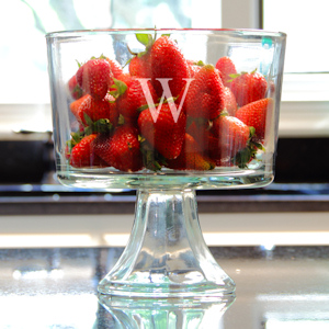 Personalized Trifle Dessert Bowl imagerjs