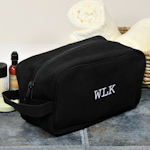 Personalized Canvas Travel Toiletry Bag