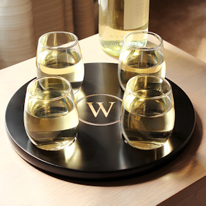 Round Wine Flight Tray Set imagerjs