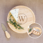Personalized Gourmet Cheese Board 5 Piece Set