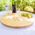 Personalized Bamboo Lazy Susan (2 Sizes)