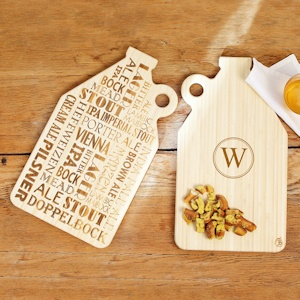 Personalized Reversible Growler Serving Board imagerjs