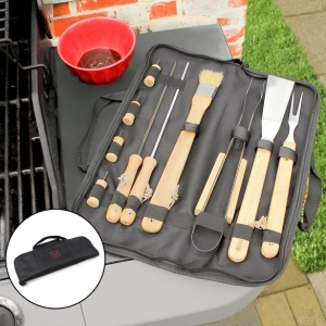 Personalized BBQ Tool Gift Set imagerjs