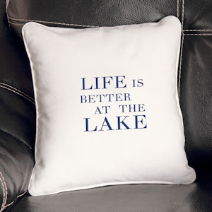 Lake House Throw Pillow imagerjs