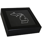 Home State Keepsake Box (Black or White)