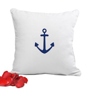 Decorative Anchor Throw Pillow imagerjs